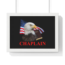 Load image into Gallery viewer, CHAPLAIN Premium Framed Horizontal Poster
