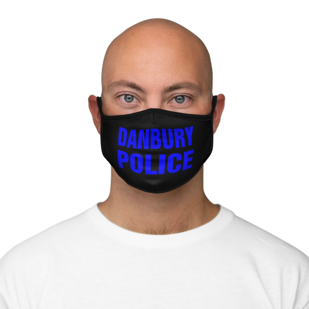 DANBURY POLICE Fitted Polyester Face Mask