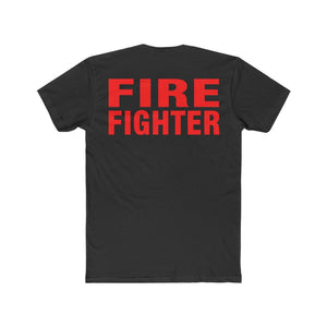 FIREFIGHTER Cotton Crew Tee