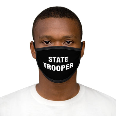 STATE TROOPER Mixed-Fabric Face Mask