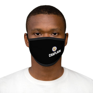 POLICE CHAPLAIN PROGRAM Mixed-Fabric Face Mask