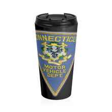 Load image into Gallery viewer, CT DMV Stainless Steel Travel Mug
