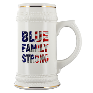 Blue Family Strong Stein