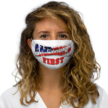 Load image into Gallery viewer, AMERICA FIRST Snug-Fit Polyester Face Mask