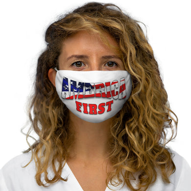 AMERICA FIRST Snug-Fit Polyester Face Mask