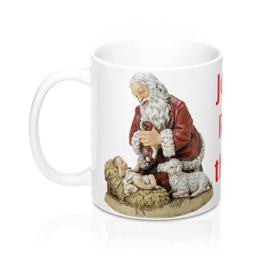 Jesus is the Reason Mug 11oz