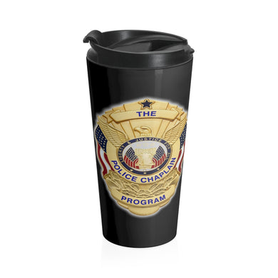 THE POLICE CHAPLAIN PROGRAM Stainless Steel Travel Mug