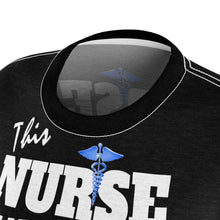 Load image into Gallery viewer, NURSE SURVIVOR TEE BLACK Tee