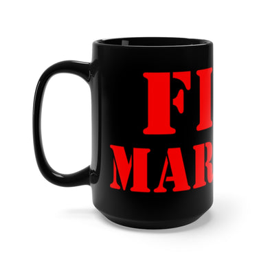 FIRE MARSHAL Black Mug 15oz