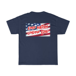 ONE NATION Heavy Cotton Tee