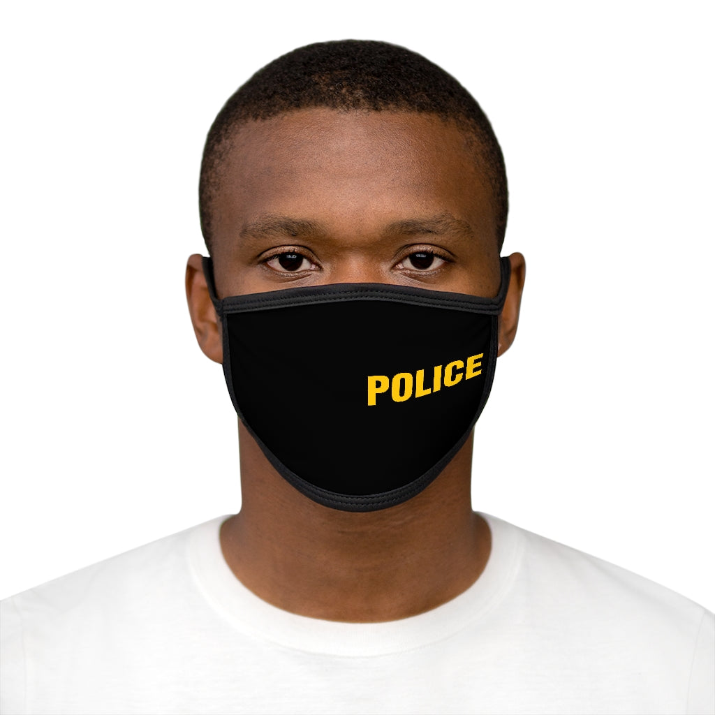 POLICE Mixed-Fabric Face Mask