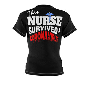 NURSE SURVIVOR TEE BLACK Tee
