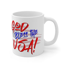 Load image into Gallery viewer, GOD BLESS THE USA Mug 11oz