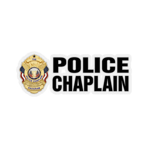 The Police Chaplain Program Stickers