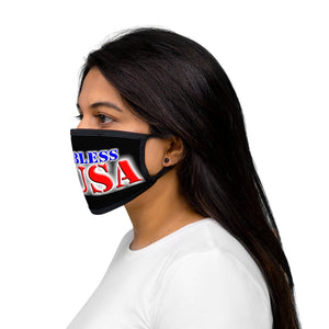 GOD BLESS THE USA Mixed-Fabric Face Mask