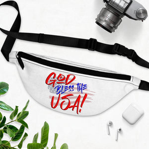 GOD BLESS THE USA Fanny Pack