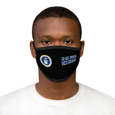 US AIR FORCE VETERAN Mixed-Fabric Face Mask