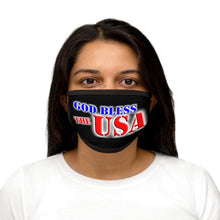 Load image into Gallery viewer, GOD BLESS THE USA Mixed-Fabric Face Mask