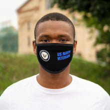 Load image into Gallery viewer, US NAVY VETERAN Mixed-Fabric Face Mask