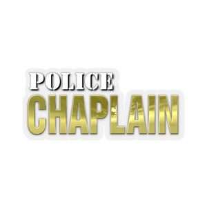 POLICE CHAPLAIN Stickers