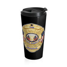 Load image into Gallery viewer, THE POLICE CHAPLAIN PROGRAM Stainless Steel Travel Mug