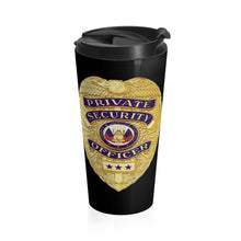 Load image into Gallery viewer, SECURITY Stainless Steel Travel Mug