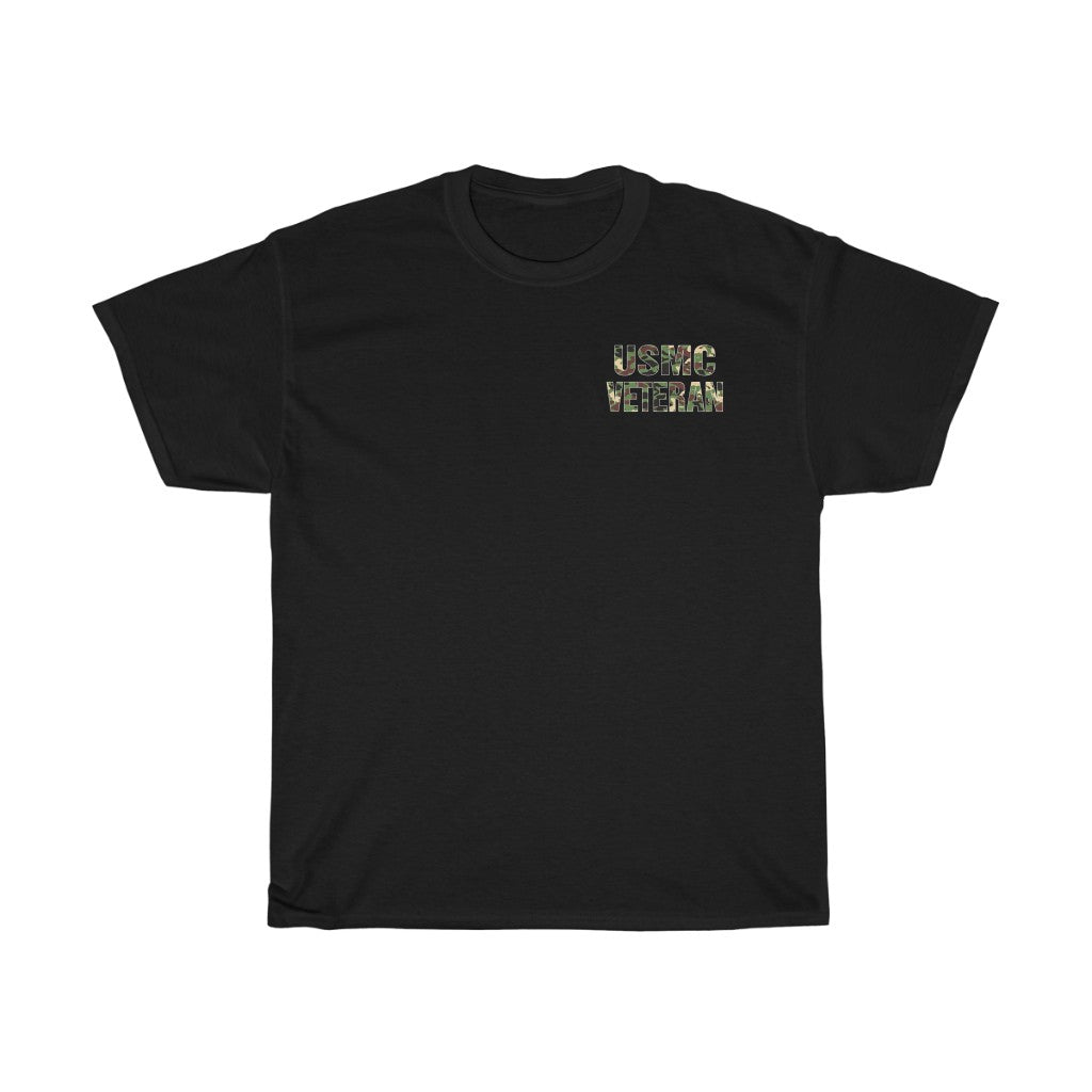USMC VETERAN Heavy Cotton Tee
