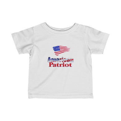AMERICAN PATRIOT Infant Fine Jersey Tee