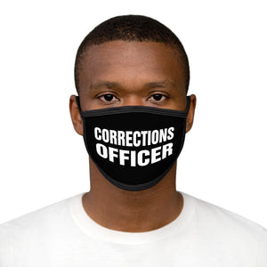 CORRECTIONS OFFICER Mixed-Fabric Face Mask