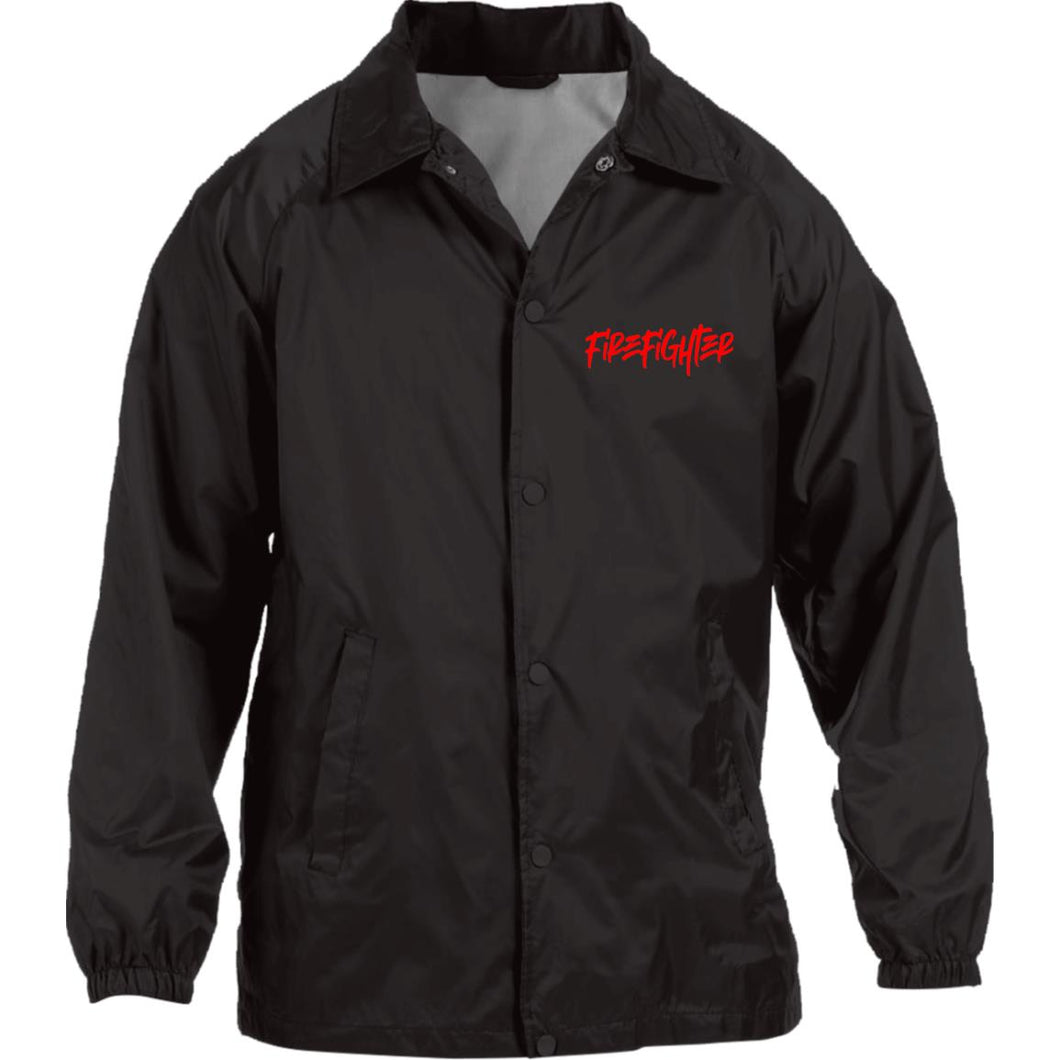 FIRE FIGHTER Nylon Staff Jacket