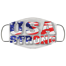 Load image into Gallery viewer, USA STRONG Face Mask