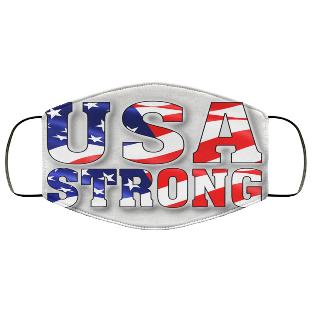 USA STRONG Face Mask
