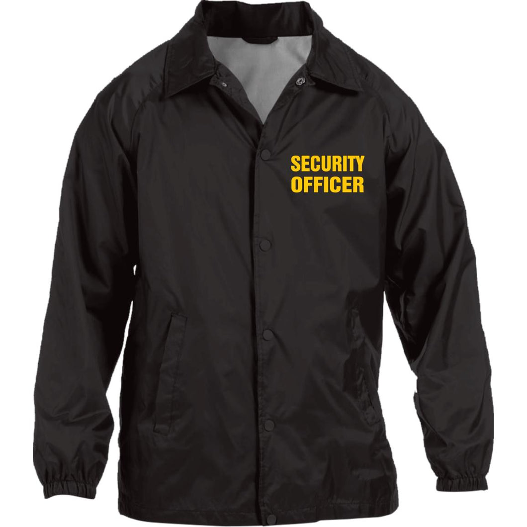 SECURITY OFFICER Nylon Staff Jacket