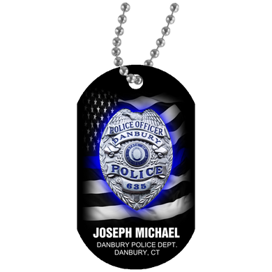 J MICHAEL DOG TAG