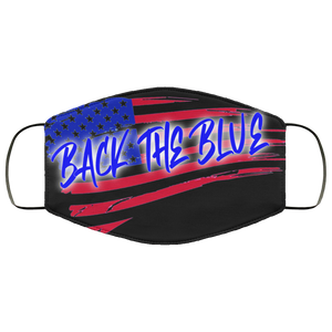 BACK THE BLUE MASK