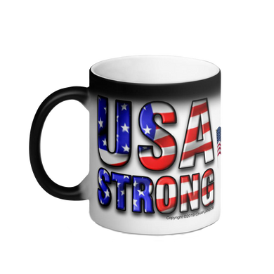 USA STRONG Color Changing Mug