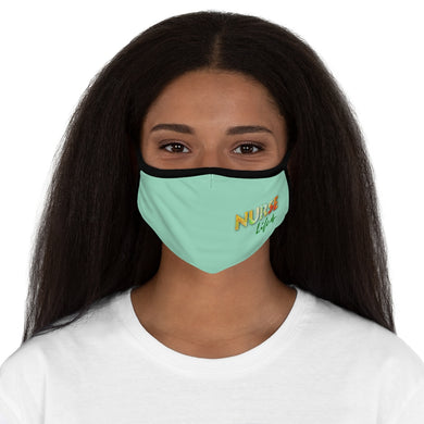 NURSE LIFE Fitted Polyester Face Mask