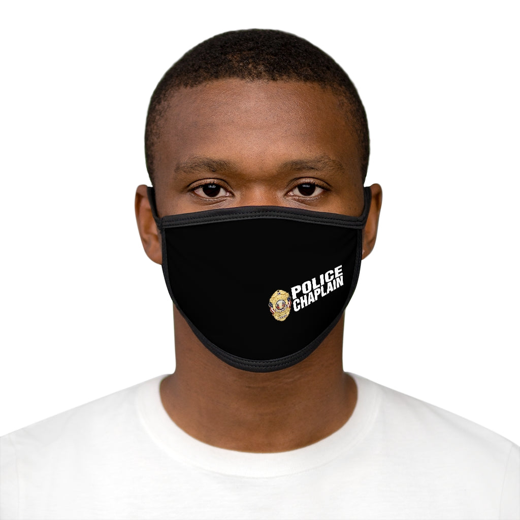 POLICE CHAPLAIN Mixed-Fabric Face Mask