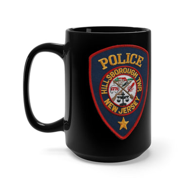 Hillsborough Police Mug 15oz