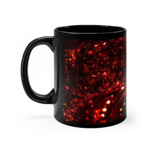 Red Christmas Balls Mug 11oz