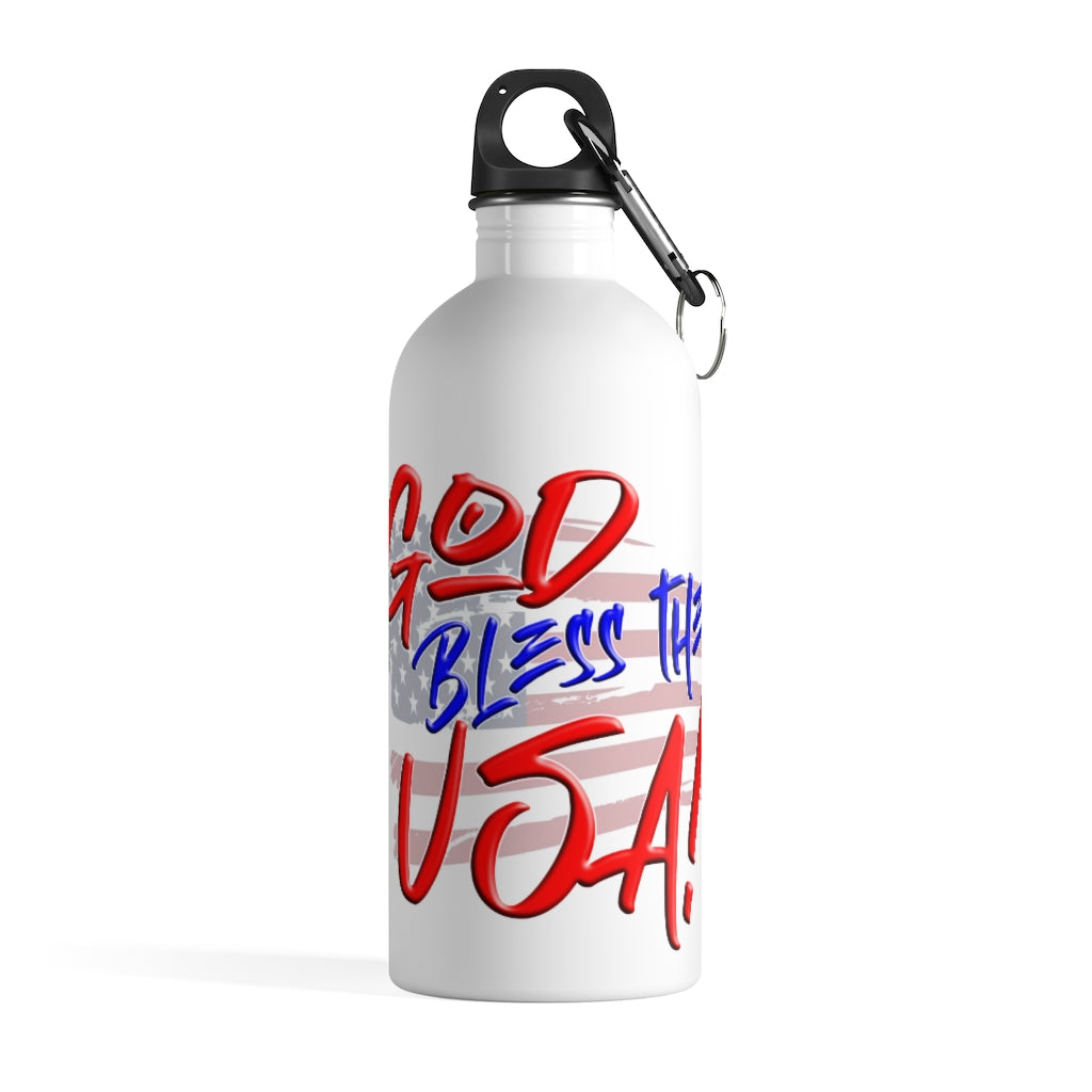 GOD BLESS THE USA Water Bottle