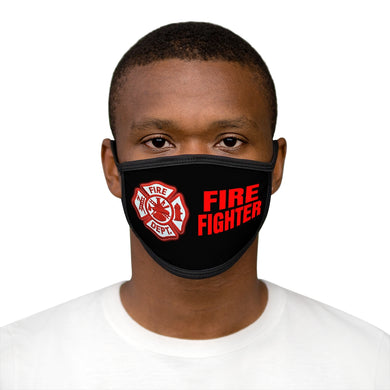 FIRE FIGHTER Mixed-Fabric Face Mask