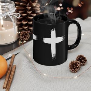 WHITE CROSS MUG 11oz
