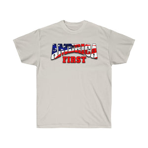 AMERICA FIRST Ultra Cotton Tee