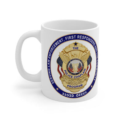 POLICE CHAPLAIN PROGRAM Mug 11oz