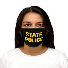 Load image into Gallery viewer, STATE POLICE Mixed-Fabric Face Mask