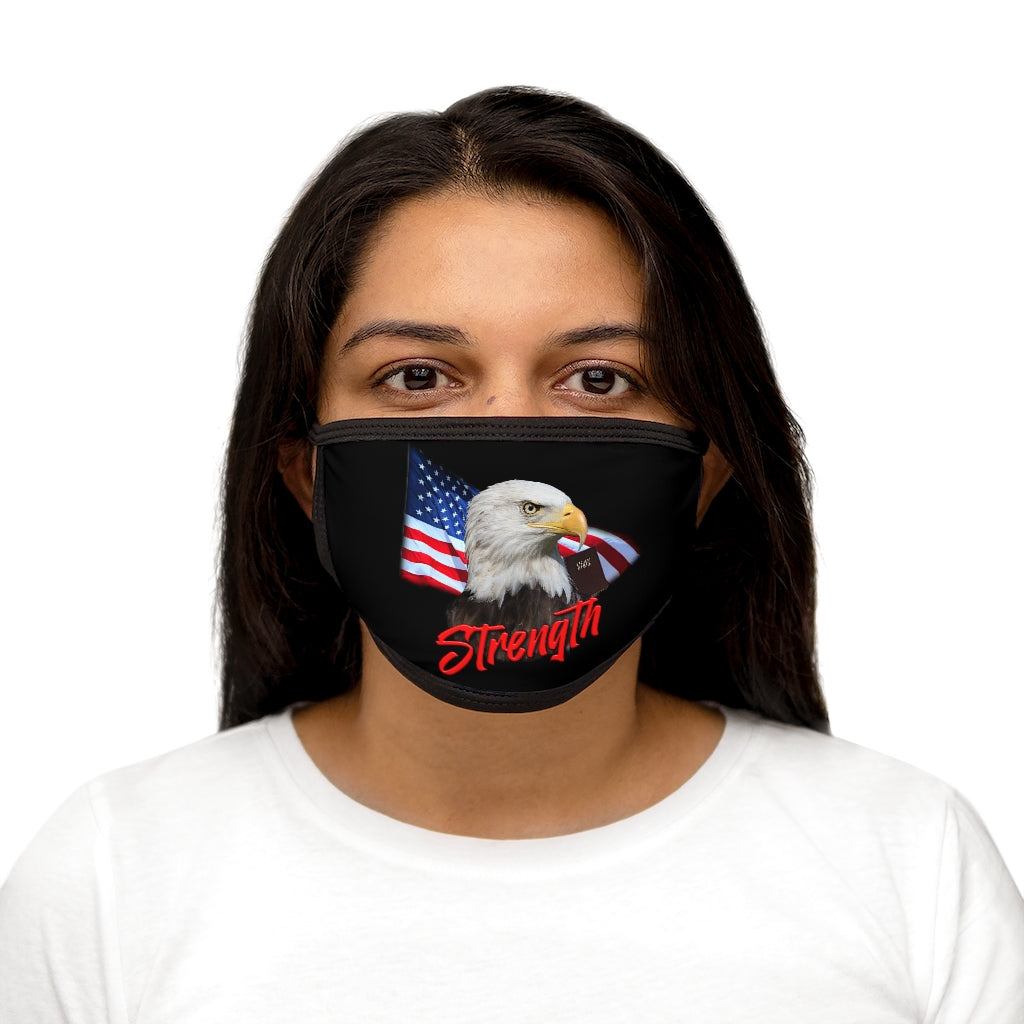 STRENGTH Mixed-Fabric Face Mask