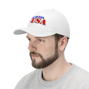 GOD BLESS THE USA Twill Hat