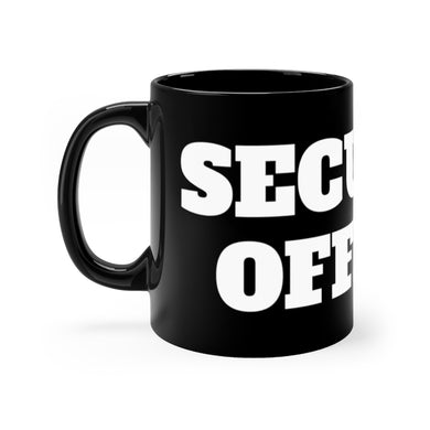 SECURITY OFFICER mug 11oz