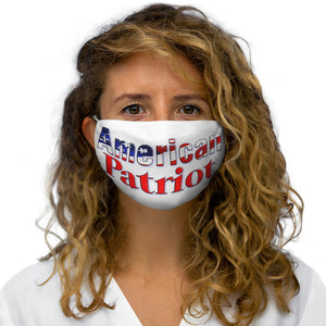 AMERICAN PATRIOT Snug-Fit Polyester Face Mask